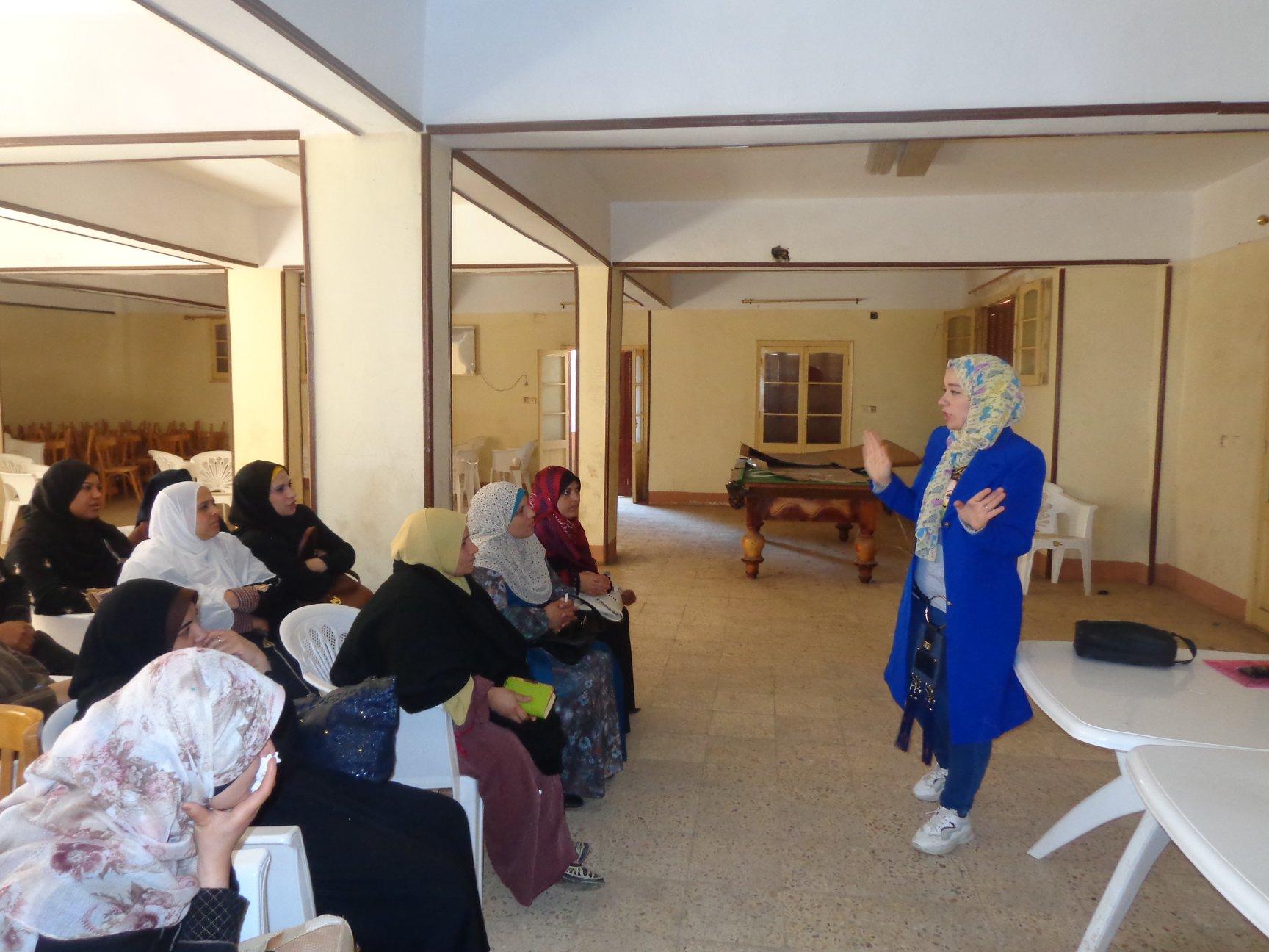قوافل جامعة المنوفية تستمر في نشر الوعي الصحي ضد الإصابة بفيروس كورونا بالقرى النائية