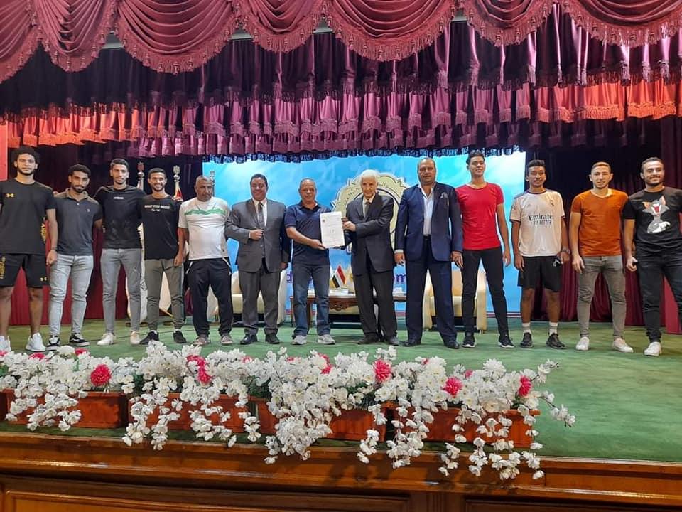 جامعة المنوفية تحصد لقب الدورة الصيفية لكرة القدم بمعهد إعداد القادة بحلوان
