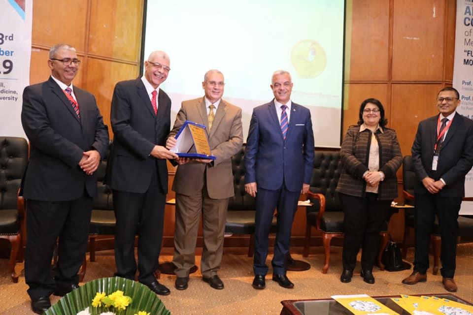 رئيس جامعة المنوفية يفتتح فعاليات المؤتمر السنوى السادس والعشرين لطب المنوفية