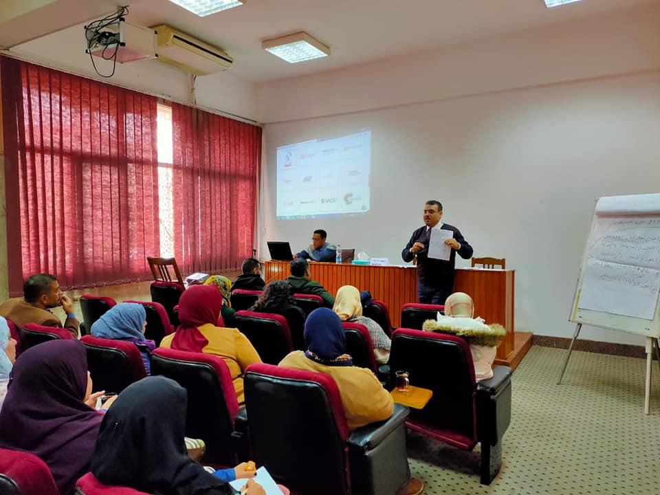مركز الدراسات الإستراتيجية بجامعة المنوفية يعقد دورات جديدة لتنمية المهارات المعرفية والمالية للعاملين