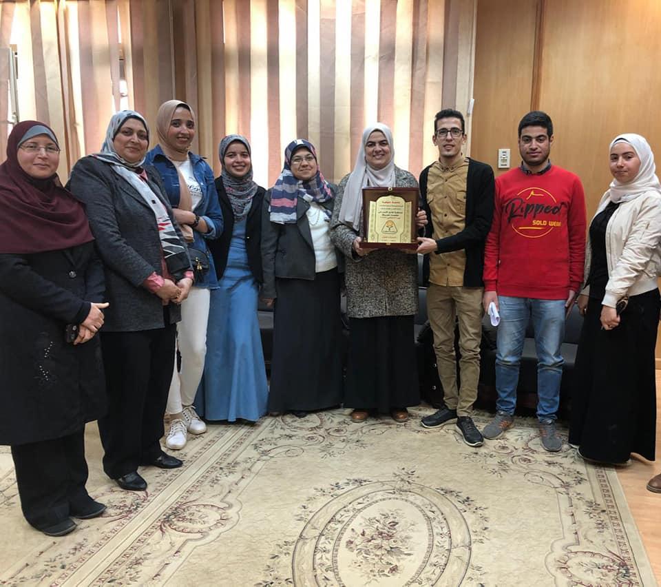 العلوم الطبية تكرم طلاب الكلية الفائزين في مسابقة أوائل الأسر بالجامعة
