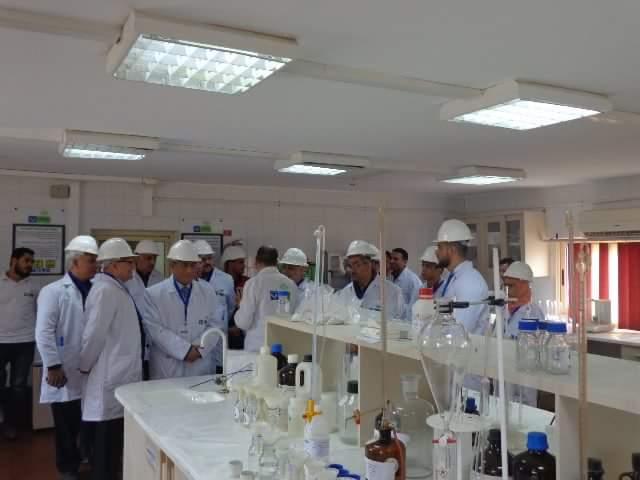 قافلة علمية إلى مصنع إيفرو جرو للأسمدة الزراعية بمدينة السادات