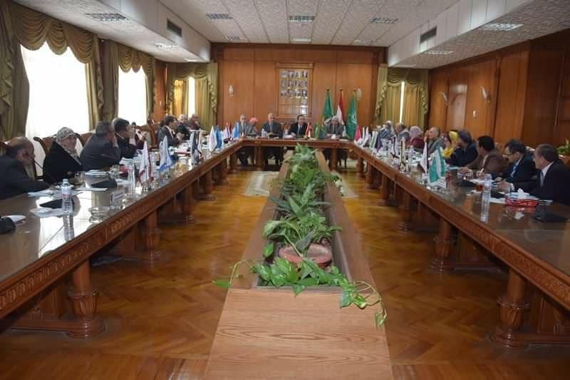 مجلس جامعة المنوفية