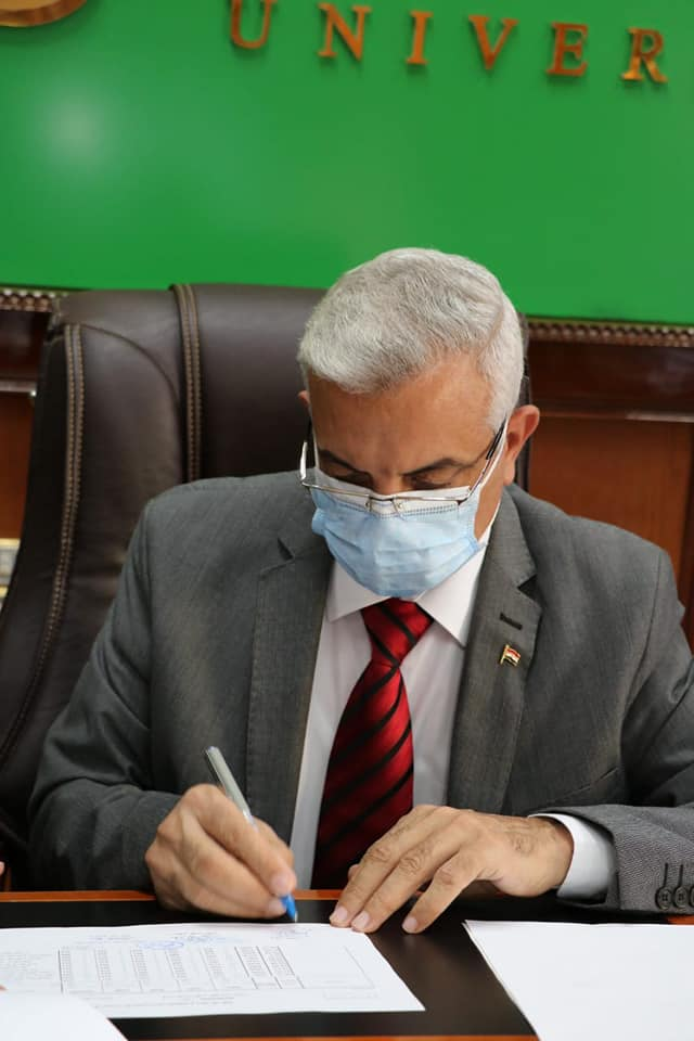 Menoufia University President approves the cumulative result of Faculty of Engineering for September 2020.