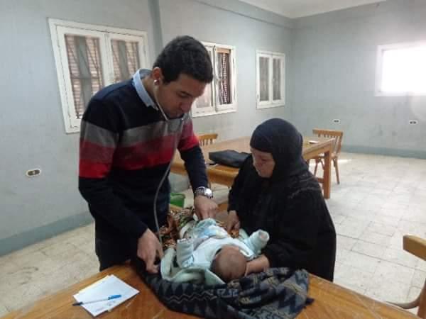 قافلة طبية  إلى قرية بني غريان مركز قويسنا